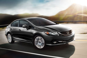 Honda Civic Berline Touring 2013 neuf